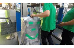 Сколько стоит упаковка багажа в аэропортах Киева