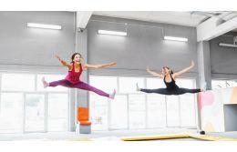 Прыжки на  батуте: польза и вред