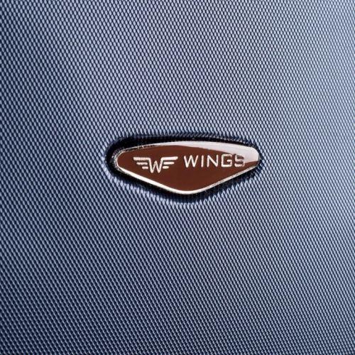 Дорожный кейс Wings 402 средний серебряный