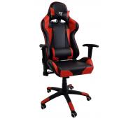 Кресло геймерское 7F Gamer Red черно-красное