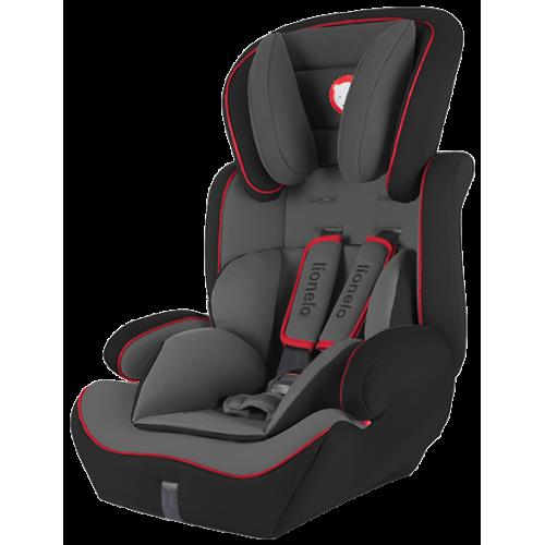 Автокресло Lionelo Levi Plus 9-36 кг черно-красное