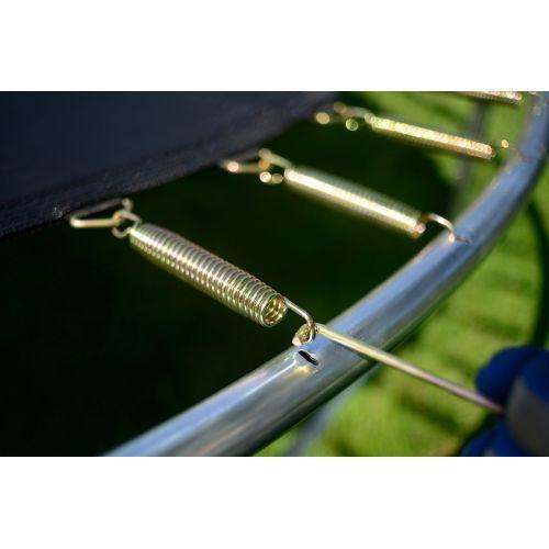 Батут FunFit 312 см с сеткой и лестницей