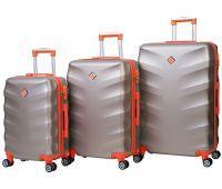 Набор чемоданов Bonro Next 3 штуки шампань