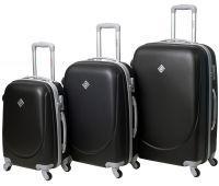 Набор чемоданов Bonro Smile 3 штуки черный