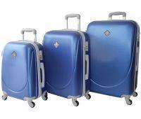 Набор чемоданов Bonro Smile 3 штуки синий