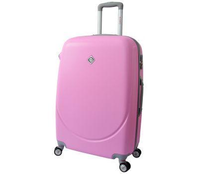 Чемодан Bonro Smile маленький с двойными колесами розовый