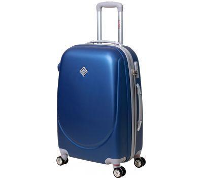Чемодан Bonro Smile маленький с двойными колесами синий
