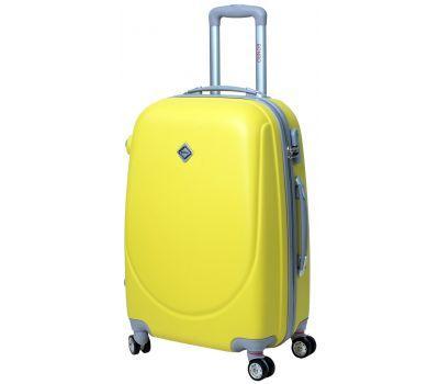Чемодан Bonro Smile средний с двойными колесами желтый