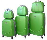 Набор чемоданов и кейсов Bonro Smile 6 штук салатовый