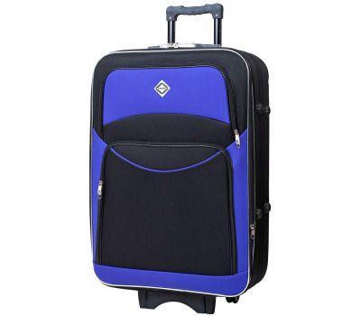 Чемодан Bonro Style большой черно-фиолетовый