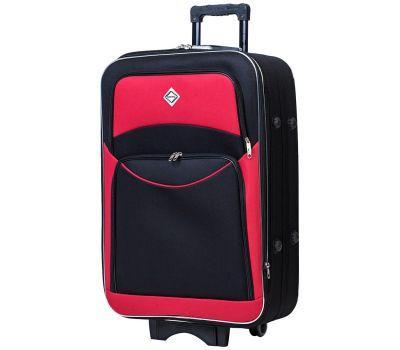 Чемодан Bonro Style средний черно-красный
