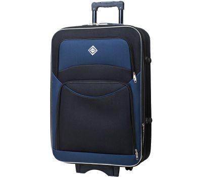 Чемодан Bonro Style большой черно-т.синий
