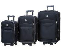 Набор чемоданов Bonro Style 3 штуки черный