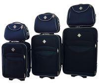 Набор чемоданов и кейсов Bonro Style 6 штук синий
