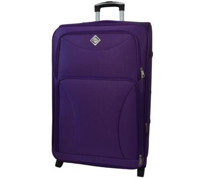 Чемодан Bonro Tourist средний на 2-х колесах фиолетовый