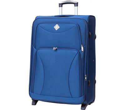 Чемодан Bonro Tourist средний на 2-х колесах синий