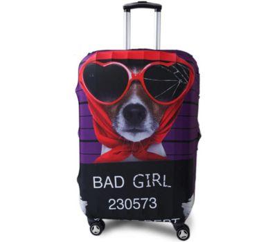 Чехол для чемодана Dorami большой L Bad Girl