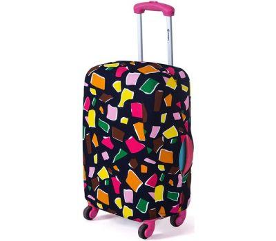 Чехол для чемодана Dorami маленький S многоугольники