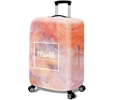 Чехол для чемодана Dorami маленький S мраморный