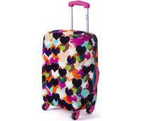 Чехол для чемодана Dorami большой L сердечки
