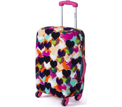 Чехол для чемодана Dorami мини XS сердечки