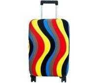 Чехол для чемодана Dorami маленький S цветные полоски