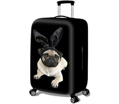 Чехол для чемодана Dorami маленький S мопс