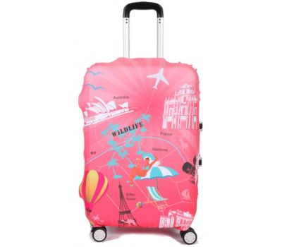 Чехол для чемодана Dorami средний M пальмы