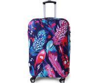 Чехол для чемодана Dorami большой L перья