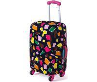 Чехол для чемодана Dorami мини XS многоугольники