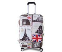 Чехол для чемодана Dorami большой L London-Paris