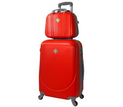 Комплект чемодан и кейс Bonro Smile большой красный