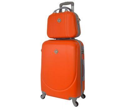 Комплект чемодан и кейс Bonro Smile средний оранжевый