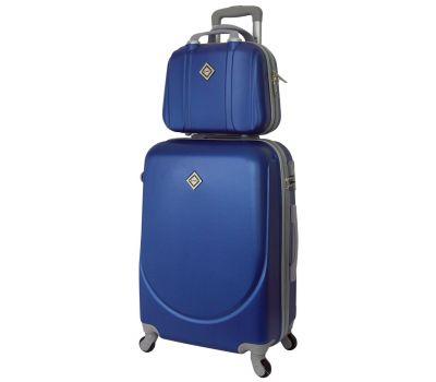Комплект чемодан и кейс Bonro Smile средний синий