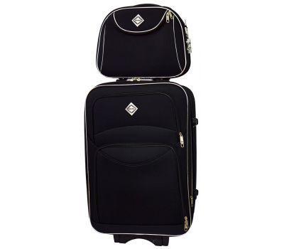 Комплект чемодан и кейс Bonro Style большой черный