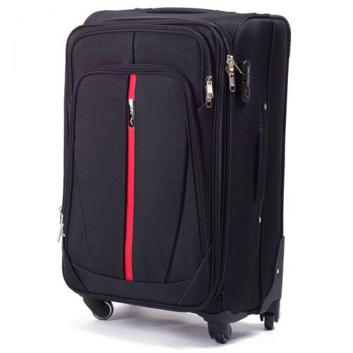 Набор чемоданов Wings 1706 3 штуки черный