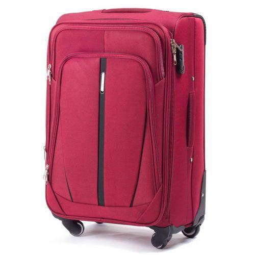 Набор чемоданов Wings 1706 3 штуки бордовый