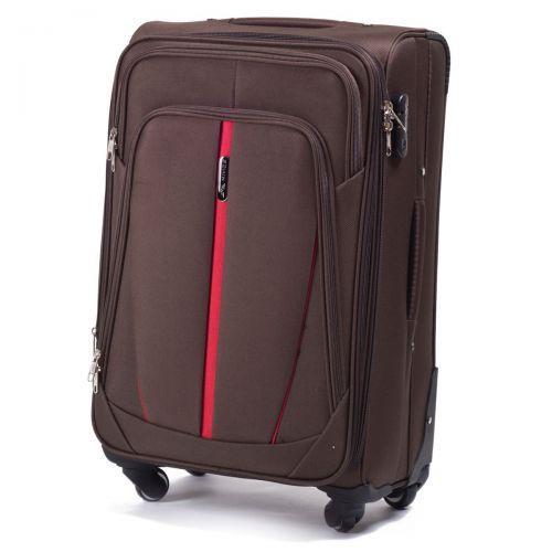 Набор чемоданов Wings 1706 3 штуки коричневый