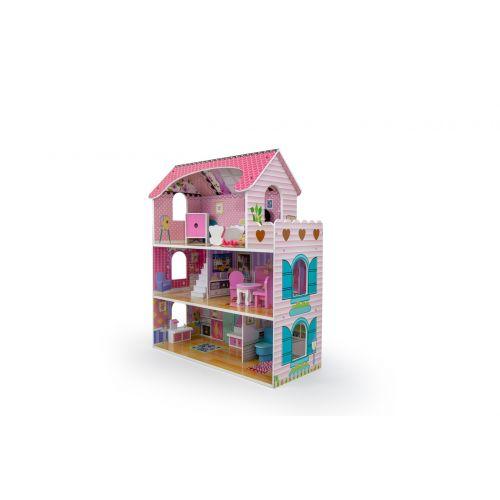 Кукольный домик игровой AVKO Вилла Флоренция + 2 куклы