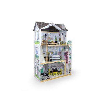 Кукольный домик игровой для барби AVKO Вилла Лацио + лифт и кукла