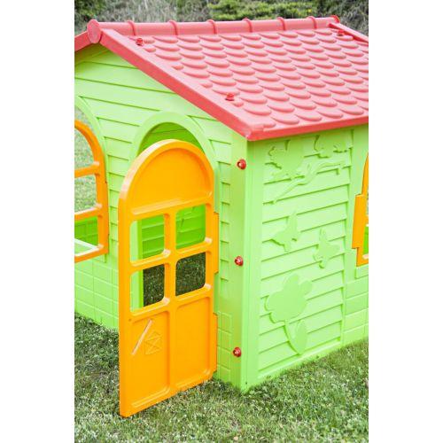 Домик игровой детский пластиковый садовый Mochtoys 10425