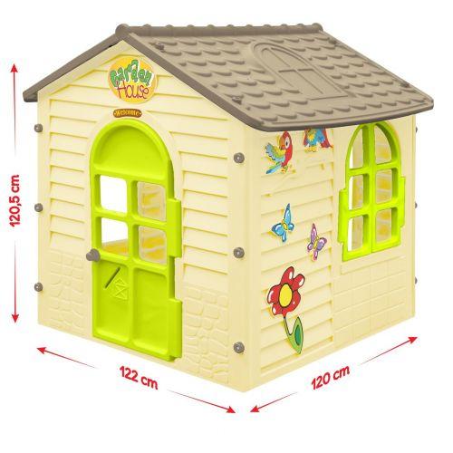 Домик игровой детский пластиковый садовый Mochtoys 11558