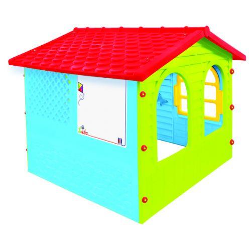 Домик игровой детский пластиковый садовый Mochtoys 12241