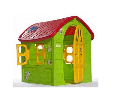 Домик игровой детский пластиковый садовый Mochtoys Dorex