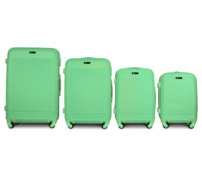 Набор чемоданов Fly 1093K 4 штуки мятный