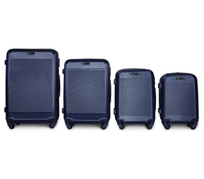 Набор чемоданов Fly 1093K 4 штуки синий
