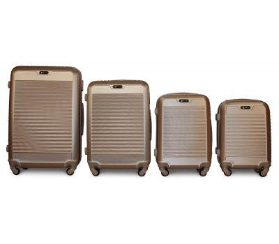 Набор чемоданов Fly 1093K 4 штуки шампань