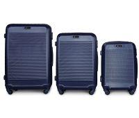 Набор чемоданов Fly 1093K 3 штуки синий