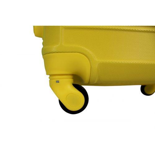 Чемодан Fly 1093K маленький желтый
