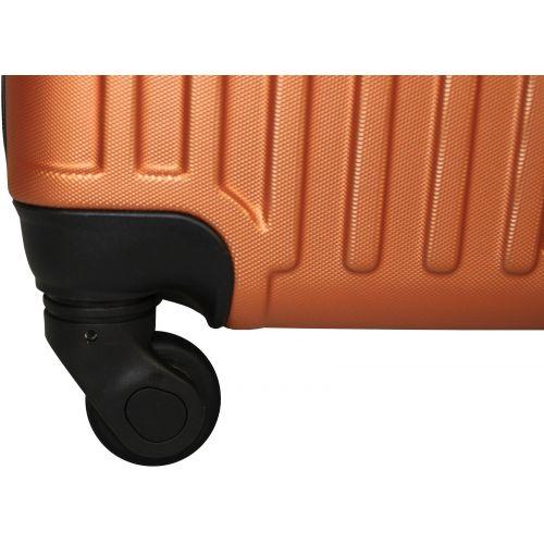 Чемодан Fly 1096 маленький оранжевый